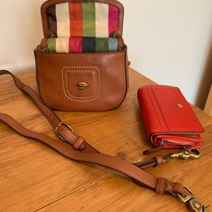 Coach Crossbody and wallet